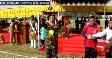ঝিনাইদহে ক্যাডেট কলেজে শুরু হলো ৫৪ তম আন্তঃহাউস বার্ষিক ক্রীড়া প্রতিযোগিতা