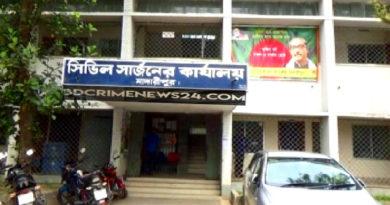 মাদারীপুরে করোনা-সন্দেহে এক কলেজ ছাত্রকে হাসপাতালের আইসলেশনে ভর্তি