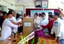 কুুড়িগ্রাম স্বাস্থ্য কমপ্লেক্সে প্রধানমন্ত্রীর প্রেস সচিবের অক্সিজেন কনসেনট্রেটর প্রদান
