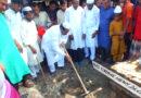 পাঁচবিবি পশ্চিম মোহাম্মদপুর মসজিদের ভিত্তি স্থাপন