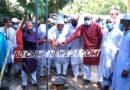 নীলফামারীতে জামে মসজিদের ভিত্তি প্রস্থর স্থাপন