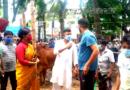 ফরিদগঞ্জ উপজেলা নির্বাহী কর্মকর্তা গরুর বাজার পরিদর্শন
